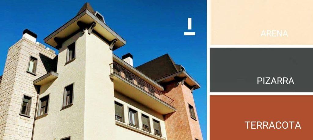 Colores de pintura para fachadas