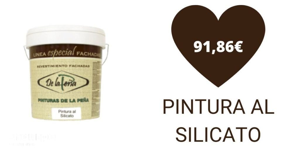 Precio pintura al silicato   De la peña