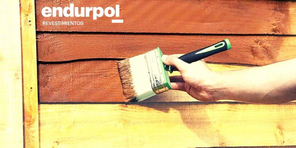 Pintar la madera