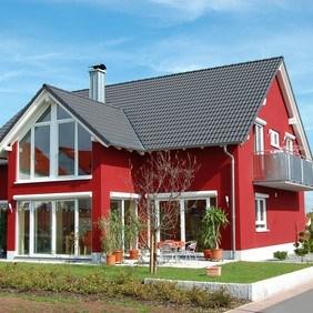 Pintura para exterior roja