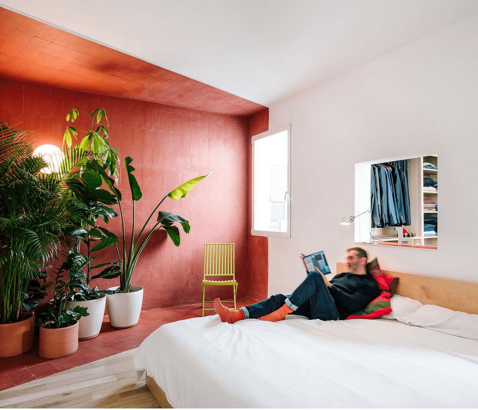 Pintura e interiorismo