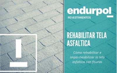 Rehabilitar tela asfáltica